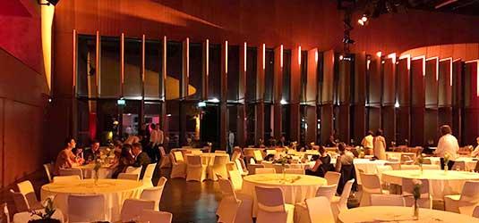 Der Multifunktionalsaal im Kurhaus Bad Hamm.