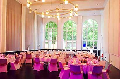 Der Spiegelsaal im Kurhaus Bad Hamm.