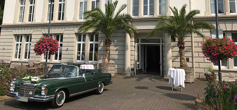 Hochzeitsempfang im Kurhaus Bad Hamm.